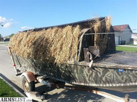 Boat Blinds For Sale by Armslist For Sale Again Reduced Duck Boat Blind Obo