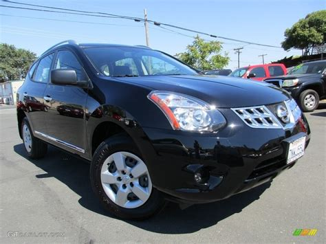 black nissan rogue 2015 super black nissan rogue select s 114975719 photo