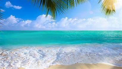 Desktop Summer Beach Backgrounds Wallpapers Sea Background
