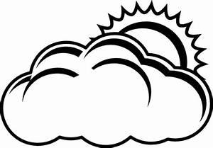 Cloudy Bw Clip Art at Clker.com - vector clip art online ...