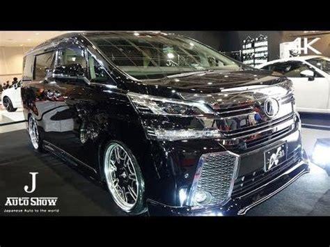 Toyota Vellfire Backgrounds 4k vlene toyota 30 vellfire ブレーン30系ヴェルファイア 大阪オートメッセ2016