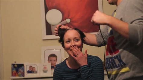 head shave   cancer patient youtube