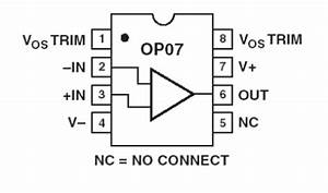 Op07cp Low Noise Cmos Op