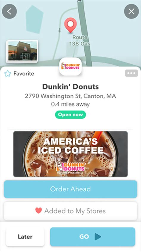 I like coffee sweet, but not too sweet, and i. You Can Order Dunkin' Donuts Right from Your Waze App | Food & Wine