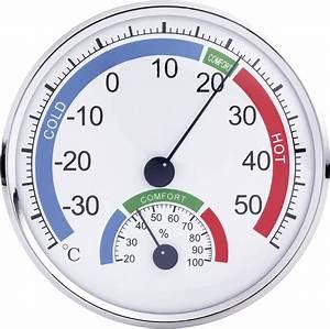 Th101e Analogue Thermometer   Hygrometer Comfortmeter