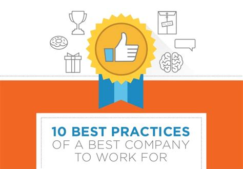 best company to work with 10 best practices of a best company to work for