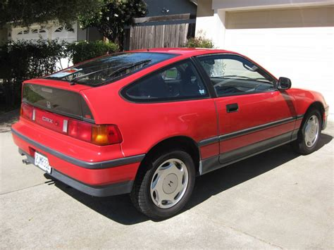 Single Owner Stocker 1988 Honda Crx Si Bring A Trailer
