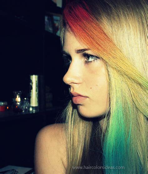 Lenkas Rainbow Hair Hair Colors Ideas
