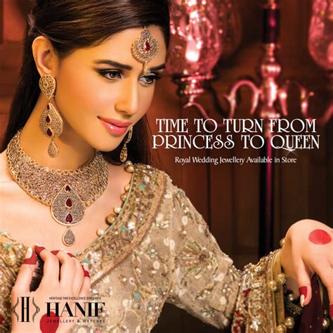 amazing pakistani bridal jewelry  hanif jewellers pk vogue