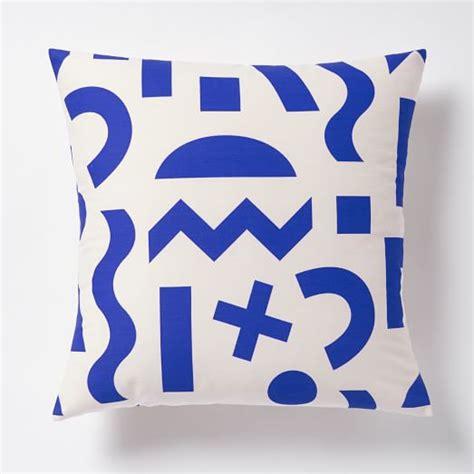dusen dusen pillow cover cobalt west elm