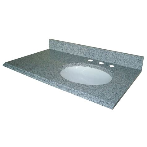 pegasus 37 inch w x 22 inch d granite vanity top in napoli