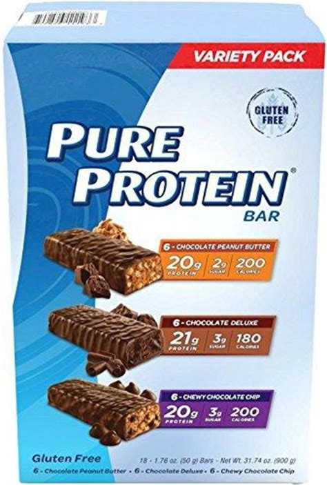 Amazon.com: Pure Protein High Protein Bar Variety Pack 1