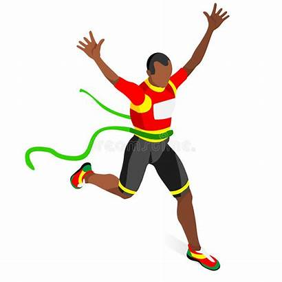 Athletics Running Winner Icon Winning Olympics Athlete