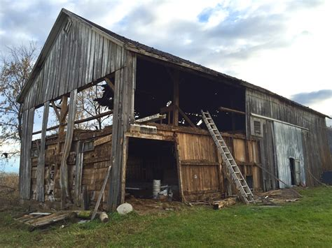 How To Tear Down And Get Rid Of An Old Barn, Plus How Not
