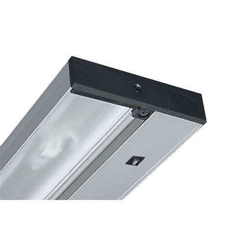 juno pro series led under cabinet lighting juno pro series 22 in brushed silver led under cabinet