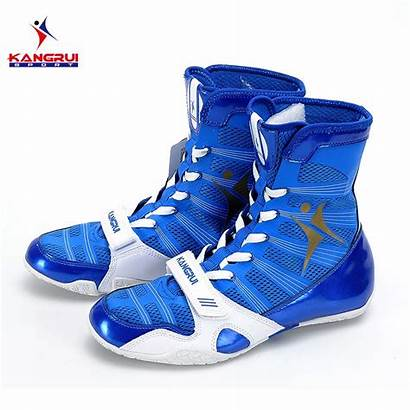 Wrestling Training Boxing Leather Sneakers Professional Tendon