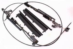 Sunroof Parts Track Cables Repair 98-05 Vw Beetle