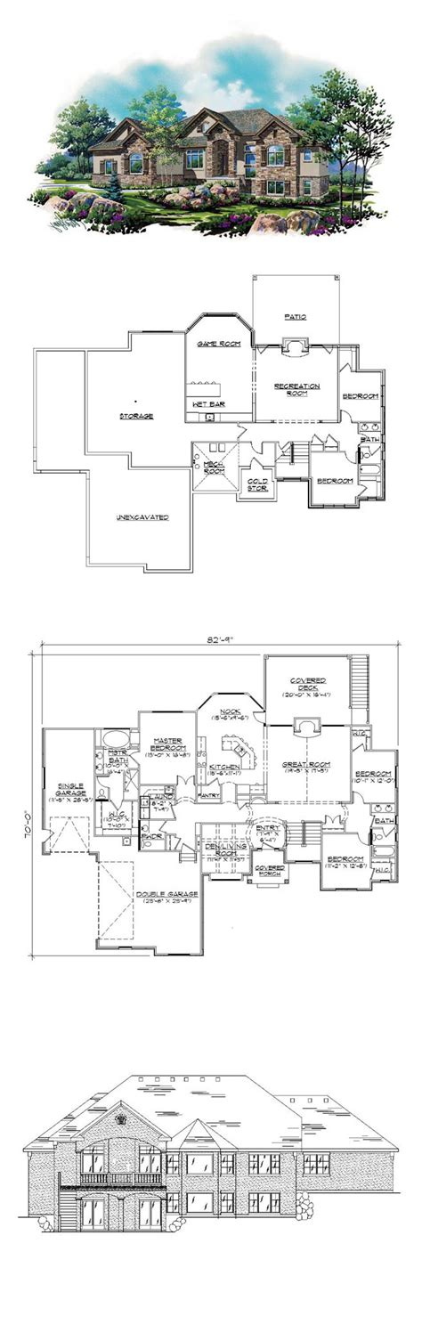 house plans with finished basement 17 best images about house plans with finished basements