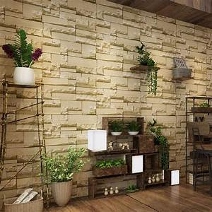 3d tapete stein steintapete vliestapete optik beige 10x0 With balkon teppich mit tapete 3d stein