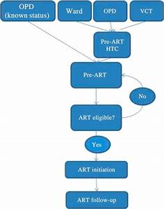Flow Diagram Outlining The Current  New  Hiv Pathway At
