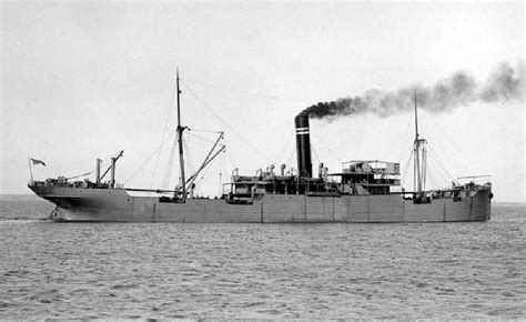 Ship Ex by Hms Wonganella A Circa 1911 Submarine Decoy Or Q Ship Ex