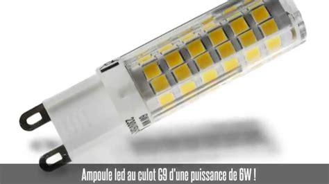 Ampoule Led G9, 6w, 270°, 480 Lm, Blanc Chaud