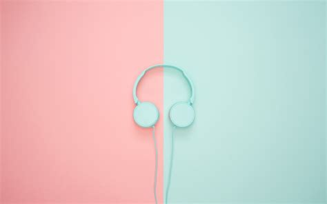 wallpaper  headphones minimalism