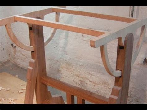wood drafting table  architects table part