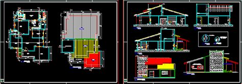 arquitetonico residential project dwg full project  autocad designs cad
