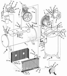 Campbell Hausfeld Ci050080va Parts Diagram For Air