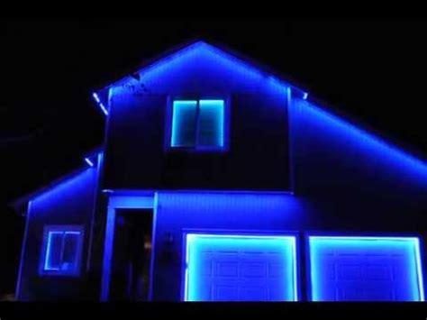 permanent led holiday lighting youtube