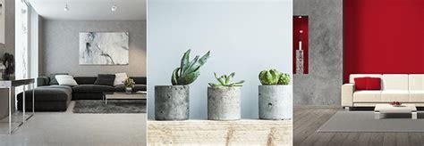 wände mit farbe gestalten beton effekt farbe wohn design