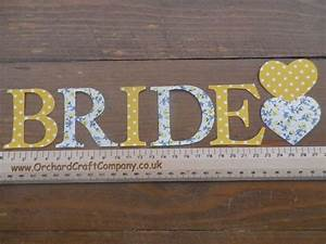 bride iron on letters With bride iron on letters