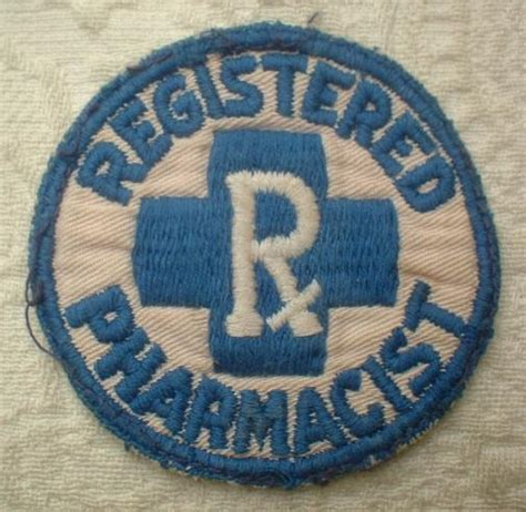 Registered Pharmacist by Vintage Registered Pharmacist Rx Pharmacy Store