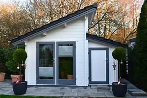 Gerätehaus Mit Pultdach : gartenhaus mit versetzten pultdach bielefeld pollmeier ~ Michelbontemps.com Haus und Dekorationen