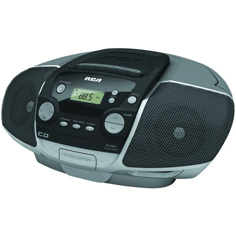 Cd Cassette Player by Rca Rcd175 Portable Cd Boom Box With Cassette Player