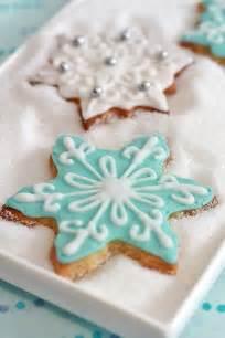 Snowflake Decorated Christmas Sugar Cookies