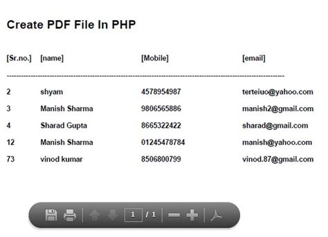 php using string templates how to generate pdf file using php prioritynj