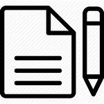 Documentation Icon Writing Letter Script Icons 512px