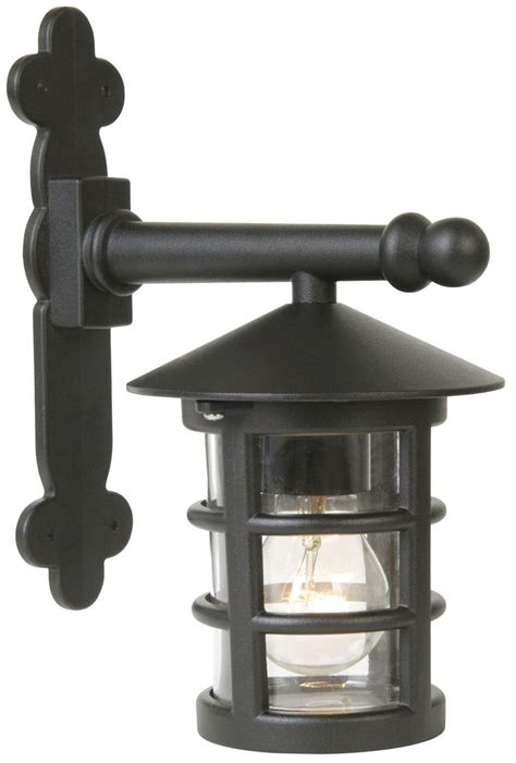 lights outside tavistock black external lantern