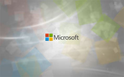 Microsoft Wallpapers as Desktop Background