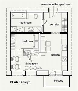 40 mq belli, funzionali e moderni Casa it