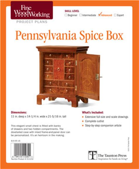 pennsylvania spice cabinet plans plans diy