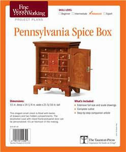 Pennsylvania Spice Cabinet Plans Plans DIY Free Download