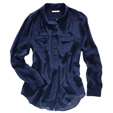 navy blouses navy blue silk blouse black blouse