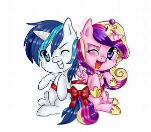 cadence and shining armor by Asamy753 on DeviantArt