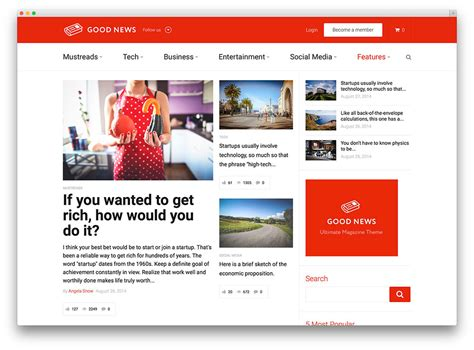 36 Best Wordpress Newspaper Themes For News Sites 2019
