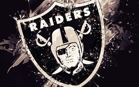 Download wallpapers Oakland Raiders, 4k, logo, grunge art ...