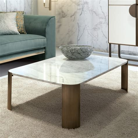 Nordic simple coffee table tv cabinet italian light luxury style marble storage coffee table living room multi functional round coffee table. Contemporary Rectangular Marble Italian Designer Coffee Table