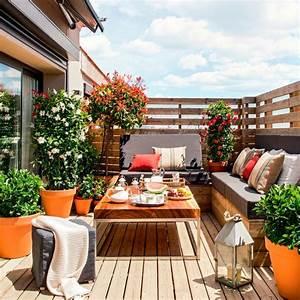 Aménager Une Terrasse : 1001 conseils et id es pour am nager une terrasse zen ~ Melissatoandfro.com Idées de Décoration